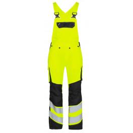 Женский сигнальный полукомбинезон Engel Safety 3543-319 желтый/черный