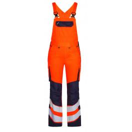 Женский сигнальный полукомбинезон Engel Safety 3543-319 оранжевый/синий