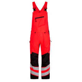 Сигнальный полукомбинезон Engel Safety 3544-314 красный/черный