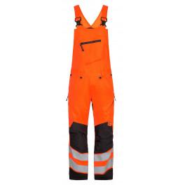 Сигнальный полукомбинезон Engel Safety 3544-314 оранжевый/серый