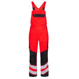 Сигнальный полукомбинезон Engel Safety 3545-319 красный/черный
