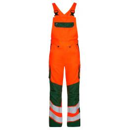 Сигнальный полукомбинезон Engel Safety 3545-319 оранжевый/зеленый