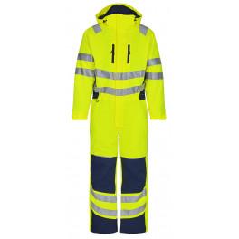Зимний сигнальный комбинезон Engel Safety 4946-930 желтый/синий