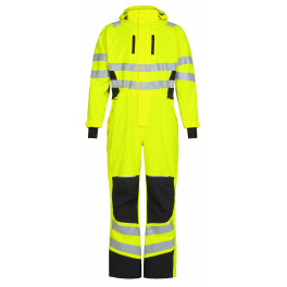 Зимний сигнальный комбинезон Engel Safety 4946-930 желтый/черный