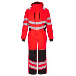 Зимний сигнальный комбинезон Engel Safety 4946-930 красный/черный