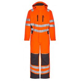 Зимний сигнальный комбинезон Engel Safety 4946-930 оранжевый/серый