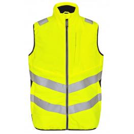 Сигнальный жилет стеганый Engel Safety 5159-158 желтый/черный