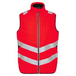 Сигнальный стеганый жилет Engel Safety 5159-158 красный/черный