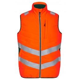 Сигнальный стеганый жилет Engel Safety 5159-158 оранжевый/зеленый