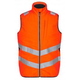 Сигнальный стеганый жилет Engel Safety 5159-158 оранжевый/серый