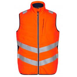 Сигнальный стеганый жилет Engel Safety 5159-158 оранжевый/синий