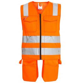 Сигнальный жилет Engel 5501-770 оранжевый
