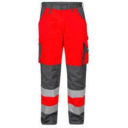Брюки Engel Safety 2501-775, красный/серый