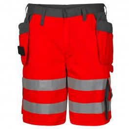 Сигнальные шорты Engel 6502-770 красный/серый