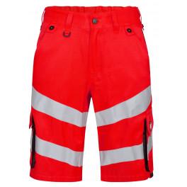 Сигнальные шорты Engel Safety 6545-319, красный/черный