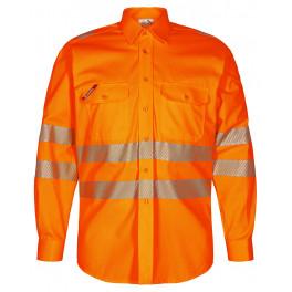 Сигнальная рубашка Engel Safety 7011-194, оранжевый