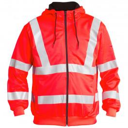 Сигнальная толстовка Engel с капюшоном 8010-228, красный