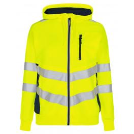 Женская сигнальная толстовка Engel Safety 8027-241, желтый/синий