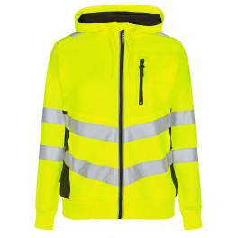 Женская сигнальная толстовка Engel Safety 8027-241, желтый/черный