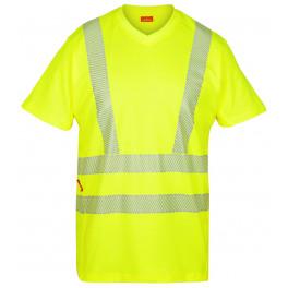 Сигнальная футболка Engel 9050-182, желтая