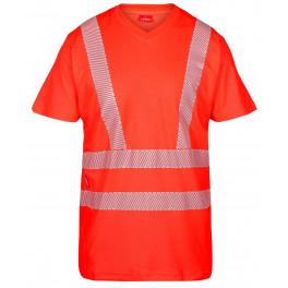Сигнальная футболка Engel 9050-182, красный