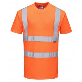 Светоотражающая рубашка Portwest RT23, оранжевый