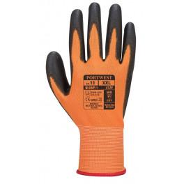 Перчатки Portwest A120, оранжевый/черный