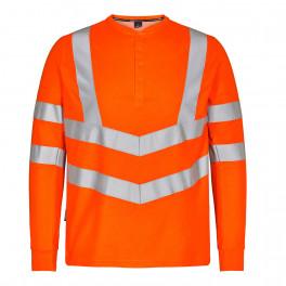 Футболка Engel Safety Grandad L/S 9548-182, оранжевый