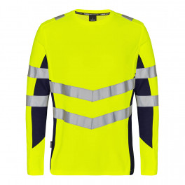 Футболка Engel Safety L/S 9545-182, желтый/синий