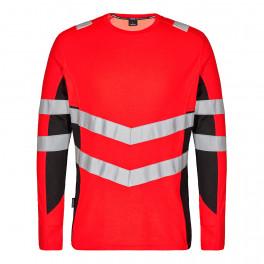 Футболка Engel Safety L/S 9545-182, красный/черный