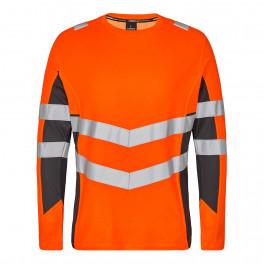 Футболка Engel Safety L/S 9545-182, оранжевый/серый