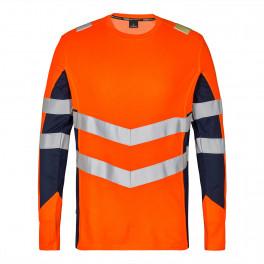 Футболка Engel Safety L/S 9545-182, оранжевый/синий