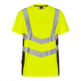 Футболка Engel Safety S/S 9544-182, желтый/черный