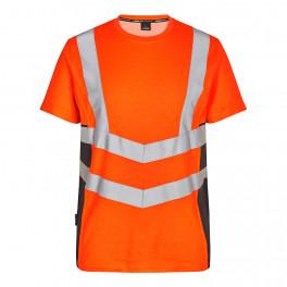 Футболка Engel Safety S/S 9544-182, серый/оранжевый