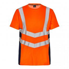 Футболка Engel Safety S/S 9544-182, синий/оранжевый