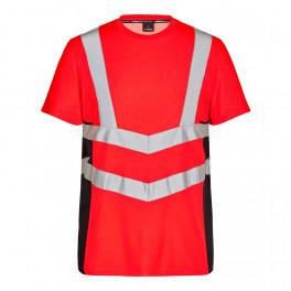 Футболка Engel Safety S/S 9544-182, красный/черный