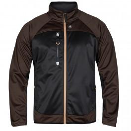 Куртка Engel Softshell 1360-237, коричневый/черный