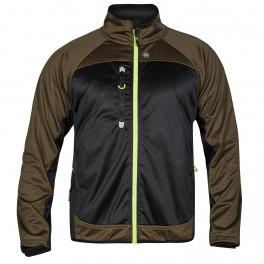 Куртка Engel Softshell 1360-237, темно-зеленый/черный
