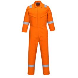 Женский антистатический огнеупорный комбинезон Portwest FR51, цвет:  оранжевый