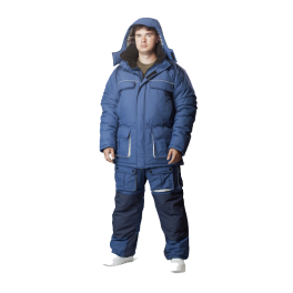 Зимний костюм NOVATEX Камчатка, серый (-40 градусов)