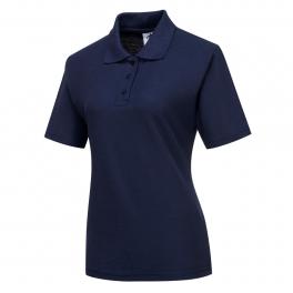 Женская футболка-поло Portwest B209, темно-синий