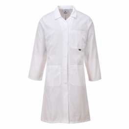 Стандартный женский халат Portwest LW63, белый