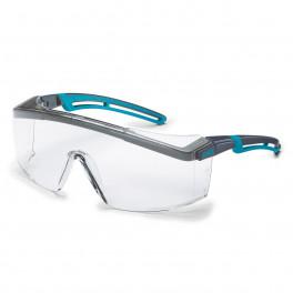 Защитные очки Uvex Астроспек 2.0, черный-синий