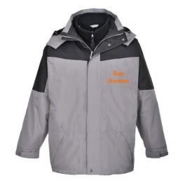 Водостойкая куртка Portwest S570 3 в 1. Серый.