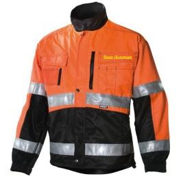Сигнальная куртка Dimex 5940, сигнальный оранжевый/черный