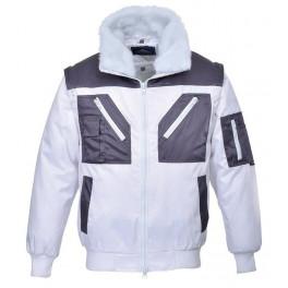 Демисезонная куртка Portwest PJ20 белый/серый
