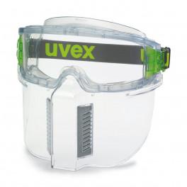 щиток защитный uvex лицевой для всех моделей очков Ультравижн 9301, прозрачный