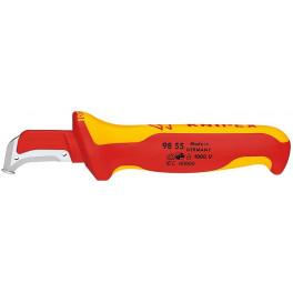 Нож Knipex KN-9855 для снятия изоляции