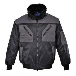 Демисезонная куртка Portwest PJ20 черный/серый
