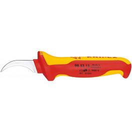 Нож для удаления изоляции секторного кабеля VDE 1000V Knipex KN-985313